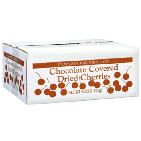 Chocolate Covered Dried Cherries - 4 lb. box