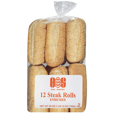 H&S Bakery Steak Rolls (28 oz.)
