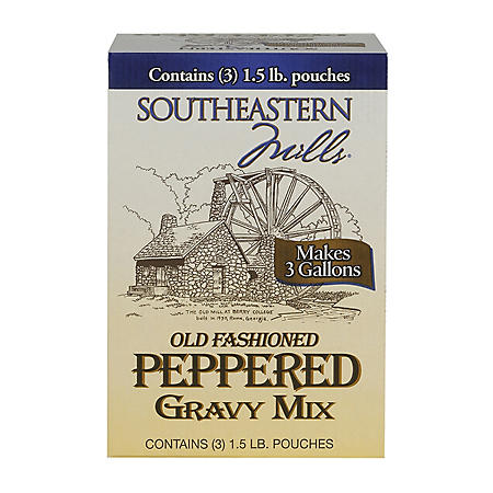 SouthEastern Peppered Gravy 3 / 15 lb.