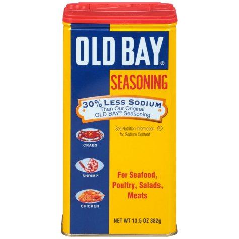 Old Bay 30% Less Sodium Seasoning (13.5 oz.)