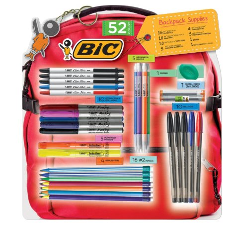 BIC Back-to-Class 52-Piece Pack