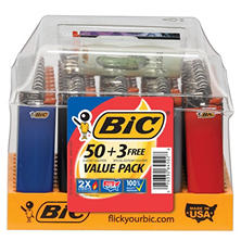 Bic Maxi Lighter Tray (53 ct.)