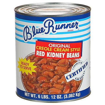 Blue Runner Creole Cream Style Beans (108 oz.)