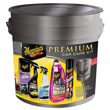 Meguiar's Premium Car Care Kit