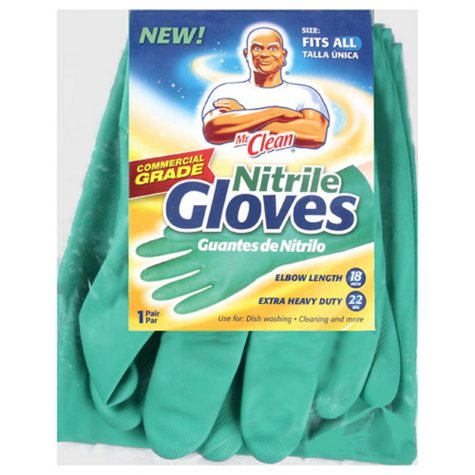 Mr. Clean® Reusable Nitrile Gloves - Fits All