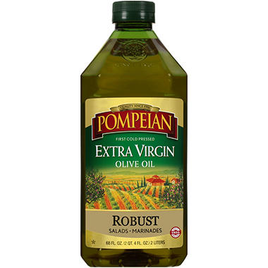 Pompeian Extra Virgin Olive Oil - 2 L