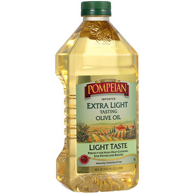 Pompeian Imported Extra Light Tasting Olive Oil (68 fl. oz. bottle)
