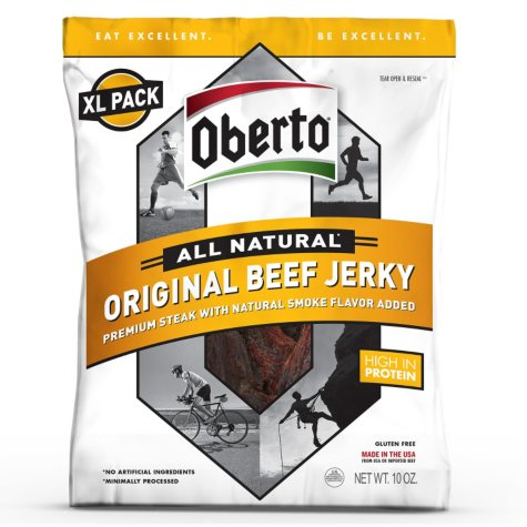 Oberto All Natural Original Beef Jerky - XL Pack - 10 oz.