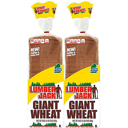 Lumber Jack Wheat Bread - 2 Pack