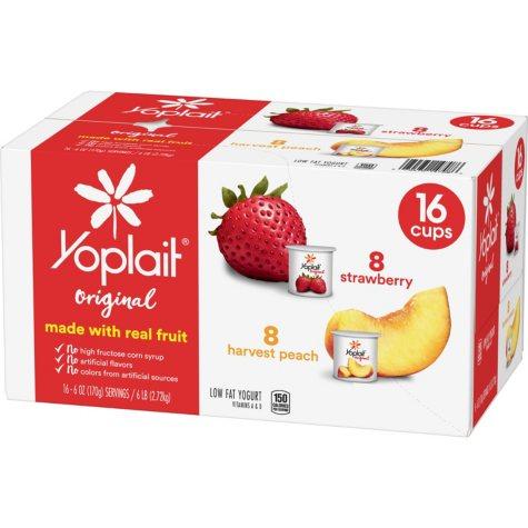 Yoplait Original Yogurt Variety Pack (16 ct.)