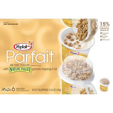 Yoplait® Parfait Yogurt