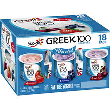 Yoplait Greek 100 (18 ct.)