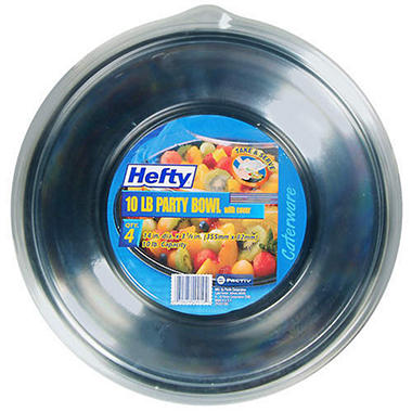 Hefty® Caterware® Party Bowl w/ Cover - 4/10lb