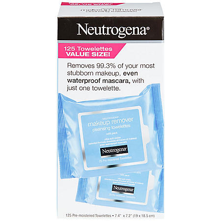 Neutrogena Makeup Remover Cleansing Towelette Refills (125 ct.)