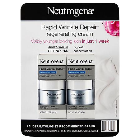 Neutrogena Rapid Wrinkle Repair Regenerating Cream (1.7 oz., 2 pk.)