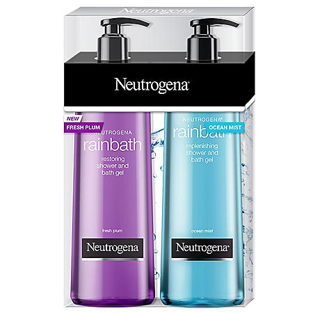 Neutrogena Rainbath Replenishing Shower Gel, Fresh Plum & Ocean Mist (32 fl. oz., 2 pk.)