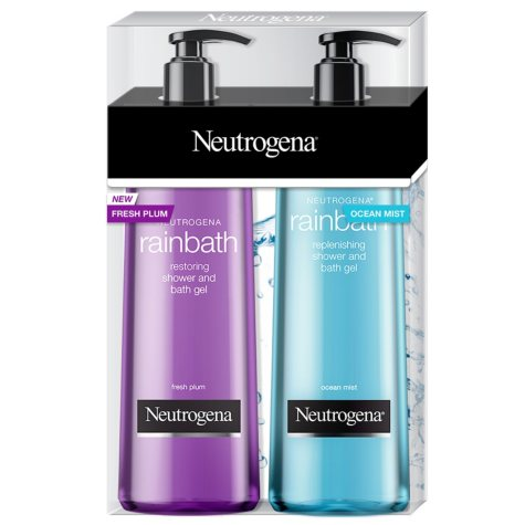Neutrogena Rainbath Replenishing Shower Gel, Fresh Plum & Ocean Mist (32 fl. oz., 2 pk.)