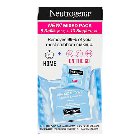 Neutrogena Makeup Remover Cleansing Towelette Refills (135 ct.)