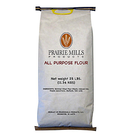 Prairie Mills All Purpose Flour (25 lbs.)