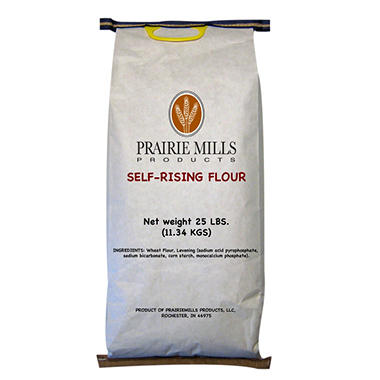 Prairie Mills Self Rising Flour (25 lb. bag)