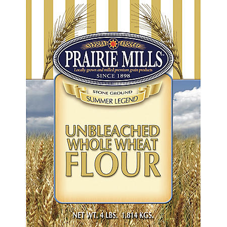 Prairie Mills Whole Wheat Flour (4 lbs., 6 ct.)
