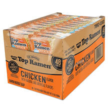 Nissin Top Ramen, Chicken Flavor (3 oz. ea., 48 ct.)