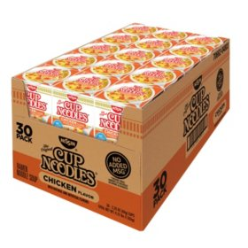 Nissin Cup Noodles, Chicken Flavor (2.25 oz., 30 ct.)