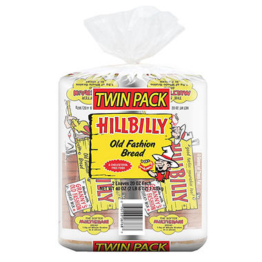 Hillbilly Old Fashion Bread (20 oz., 2 ct.)