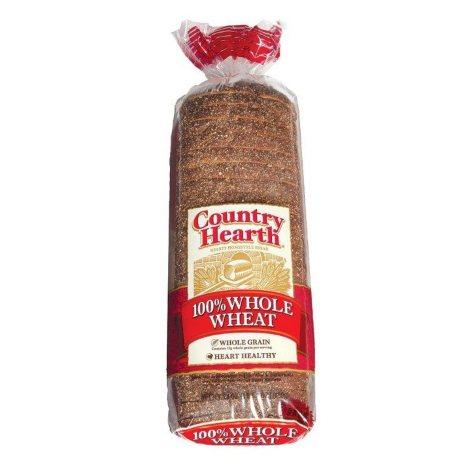 Country Hearth 100% Whole Wheat Bread (24 oz., 2 pk.)