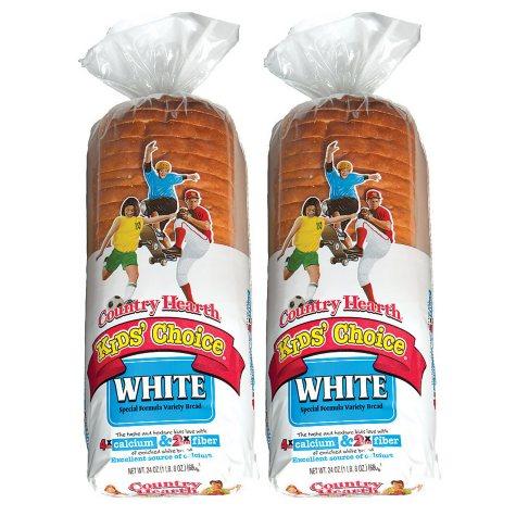Country Hearth White Bread (24 oz., 2 pk.)