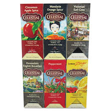 Celestial Seasonings Tea, Six Assorted Flavors (25 bags per box, 150 ct.)