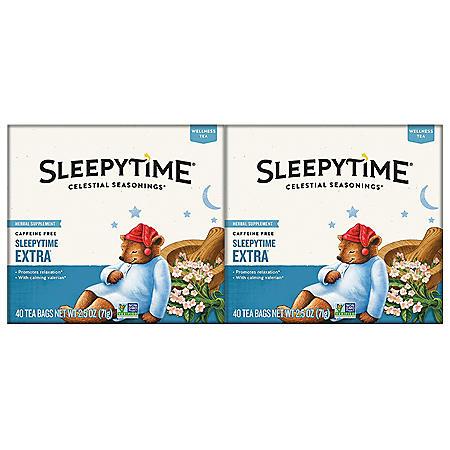 Celestial Seasonings Sleepytime Extra Tea (80 ct.)