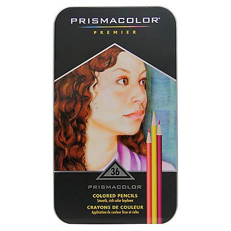 Prismacolor Premier Soft Core Colored Pencils, Assorted Colors, 36ct.