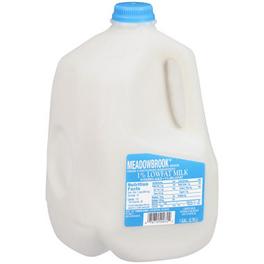Meadowbrook 1% Low Fat Milk (1 gal.)
