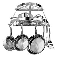 Range Kleen 2-Shelf Semi-Circle Wall-Mounted Pot Rack Deals