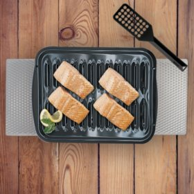 Range Kleen 4-Piece Multi-Use Heavy-Duty Porcelain Broiler Pan and Grill