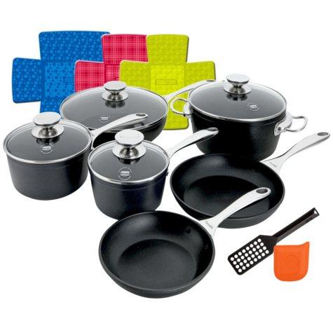 Berndes 15-Piece Berndes Coquere Non-Stick Forged Cookware Set
