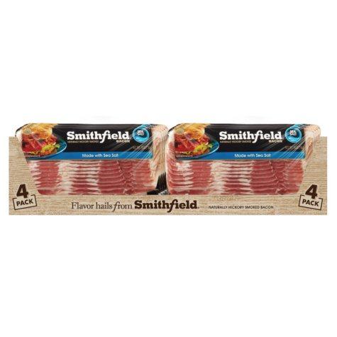 Smithfield Sea Salt Bacon (1 lb., 4 pk.)