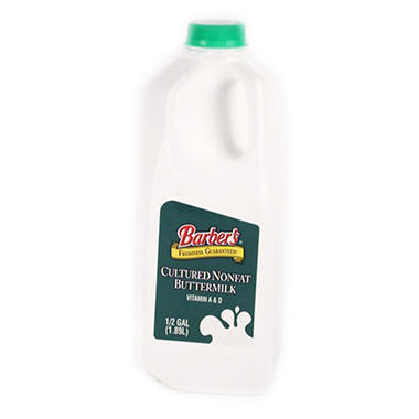 Barber's Nonfat Buttermilk (half gal.)