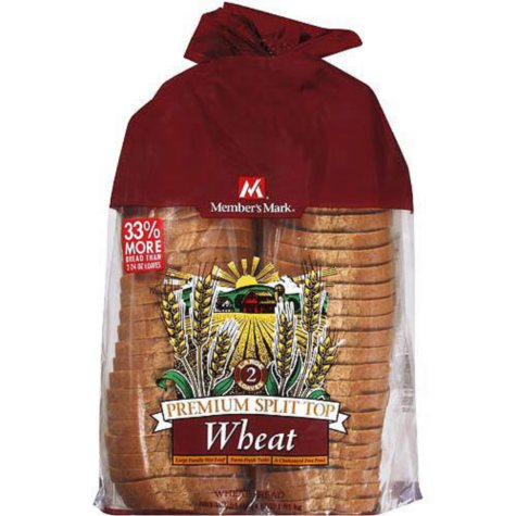 Member's Mark® Wheat Bread - 2/32oz Loaves VIEW ONLY