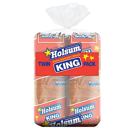 Holsum King White Bread (48 oz., 2 pk.)