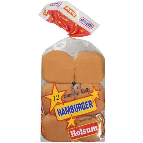 Holsum Hamburger Buns (19 oz., 12 ct.)