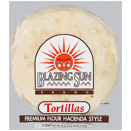 Blazing Sun Brand® Tortillas - 24 ct.