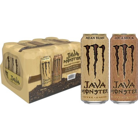 Monster Energy Coffee, Java Variety Pack (15 oz. cans, 12 ct.)