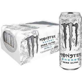 Monster Zero Ultra (16 oz. cans, 24 ct.)