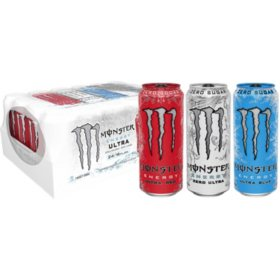 Monster Ultra Variety Pack (16 oz. cans, 24 ct.)