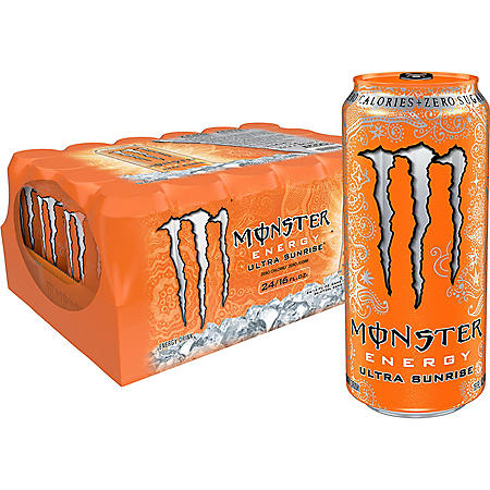 Monster Energy Ultra Sunrise (16oz / 24pk)