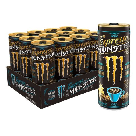 Monster Vanilla Espresso (8 oz., 12 pk.)
