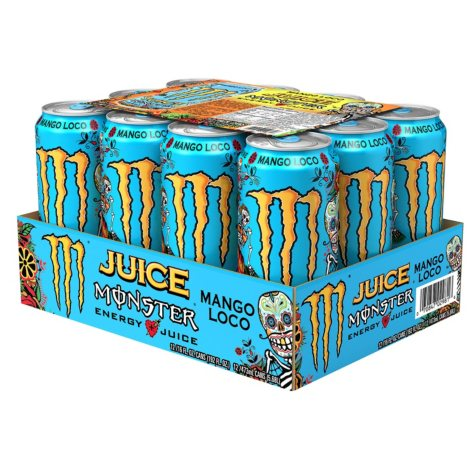 Monster Energy Juice, Mango Loco (16 oz. cans, 12 ct.)