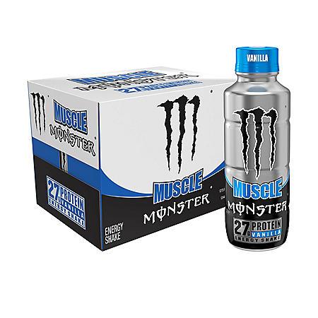 Monster Muscle Vanilla Protein Shake (15oz / 12pk)